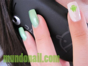 Uñas Geek Android